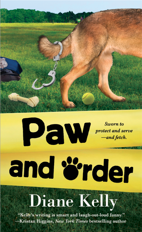 Diane Kelly Author Countdown To Release Of Paw And Order
